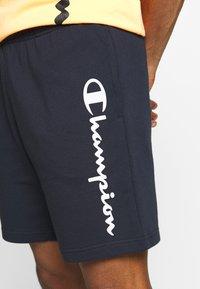 Champion - BERMUDA - Pantalón corto de deporte - dark blue - 4