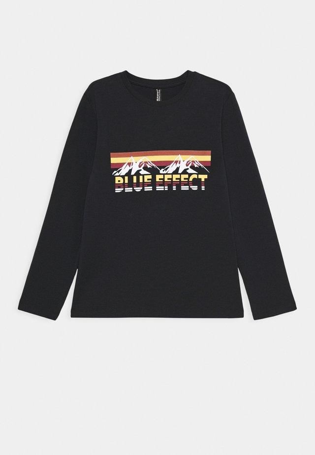 BOYS LONGSLEEVE OUTDOOR ADVENTURE - Langærmede T-shirts - nachtblau reactive