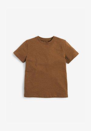 Jednoduché triko - tan