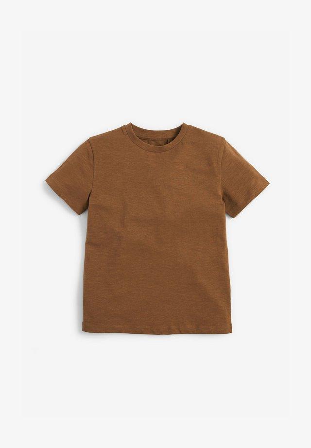T-shirt basic - tan