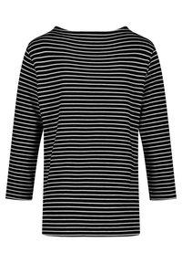 Gerry Weber - Long sleeved top - schwarz/ecru/weiss ringel - 1