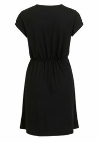 Vila - VIMOONEY STRING - Jersey dress - black - 6