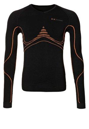 ENERGY ACCUMULATOR - Sports shirt - black