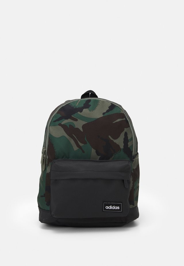 CAMO UNISEX - Batoh - black/multicolor/legacy green