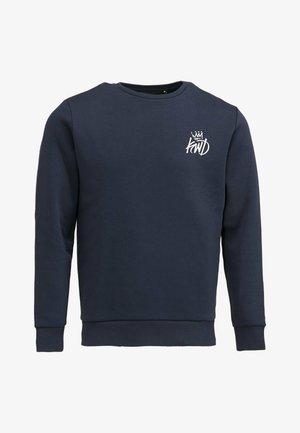 RAYLAN - Sweatshirt - navy/white