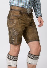 Stockerpoint - Shorts - brown - 3