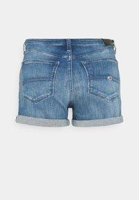 Tommy Jeans - SHORT - Denim shorts - blue denim - 1