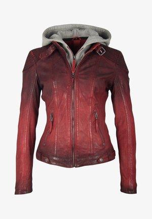 CASCHA LAMOV - Leather jacket - red