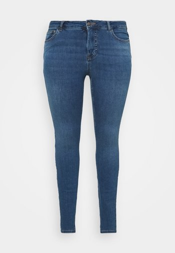 JPOSH PUSH UP AMY - Jeans Skinny Fit - blue denim