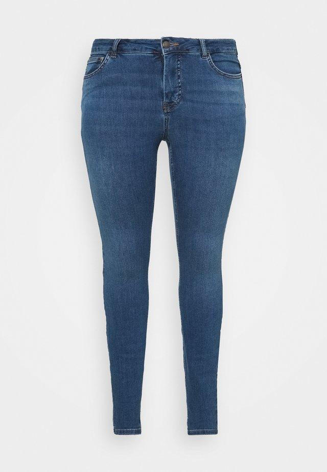 JPOSH PUSH UP AMY - Skinny džíny - blue denim