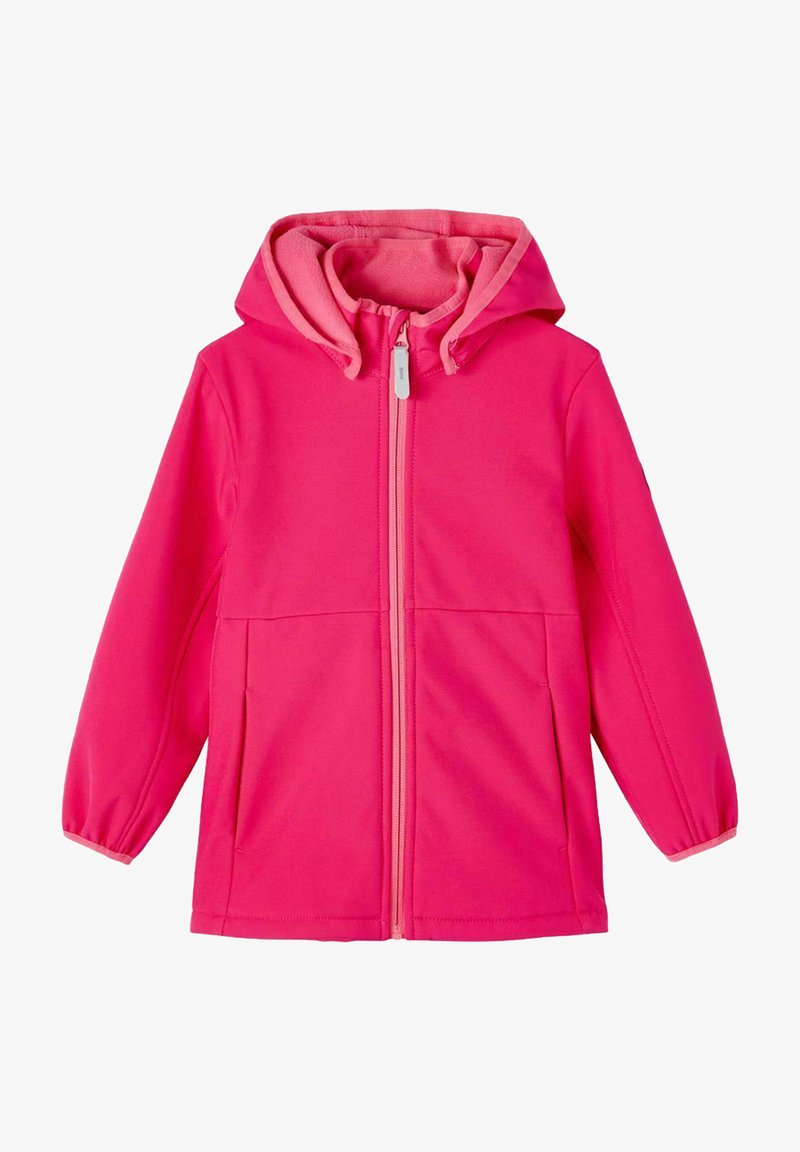 Name it - Waterproof jacket - pink peacock