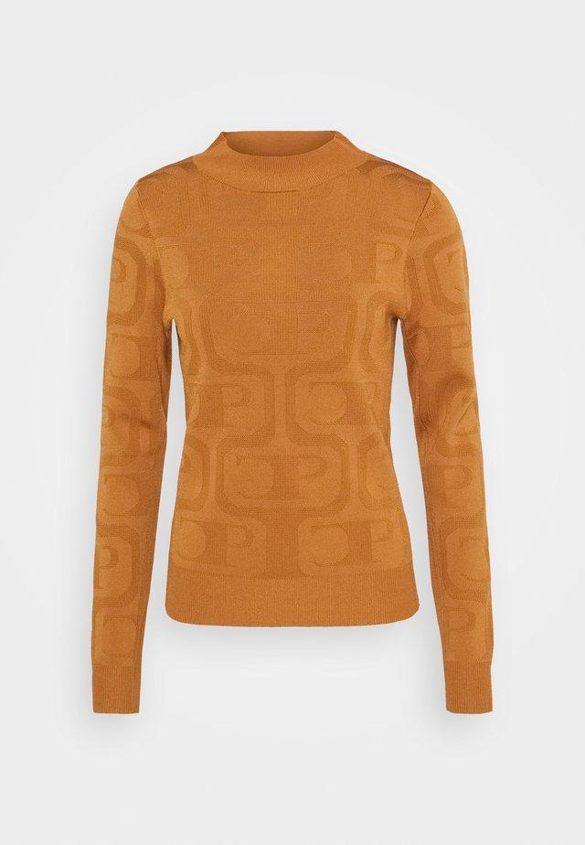 MIEL - Stickad tröja - safran