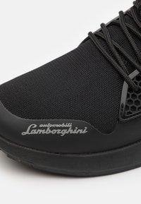Lamborghini - Sneakers laag - black/red - 5