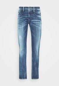 ANBASS AGED - Slim fit jeans - medium blue