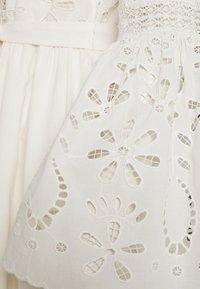 YAS - YASBOHIMA ANKLE DRESS - Shirt dress - ivory - 2