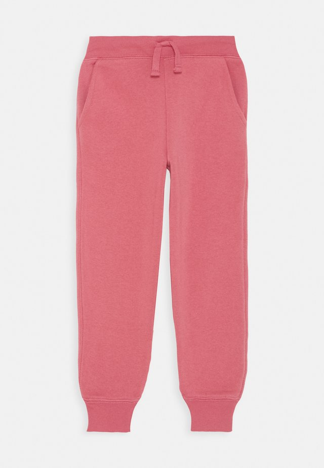 LOGO PANT SOLID - Tracksuit bottoms - pink