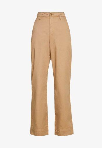 BELMA - Kalhoty - tannin