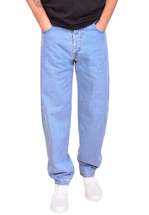 Relaxed fit jeans - stone