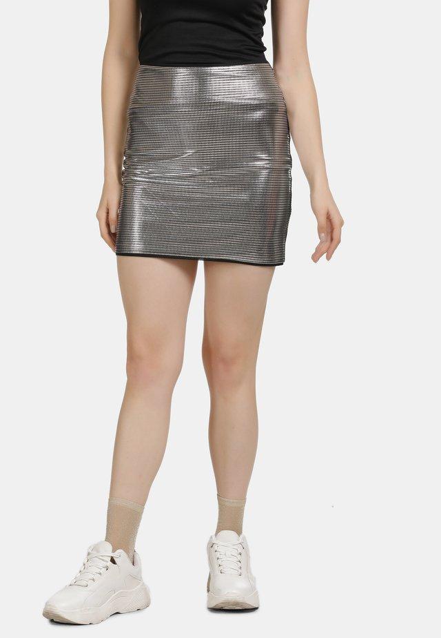 Spódnica mini - silber