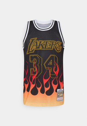 NBA LOS ANGELES LAKERS FLAMES SWINGMAN SHAQUILLE O'NEAL - Club wear - black