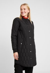 Kaffe - SHALLY QUILTED COAT - Winter coat - black deep - 1