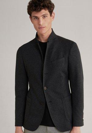 HANKEZ - Blazer jacket - schwarz strukturiert