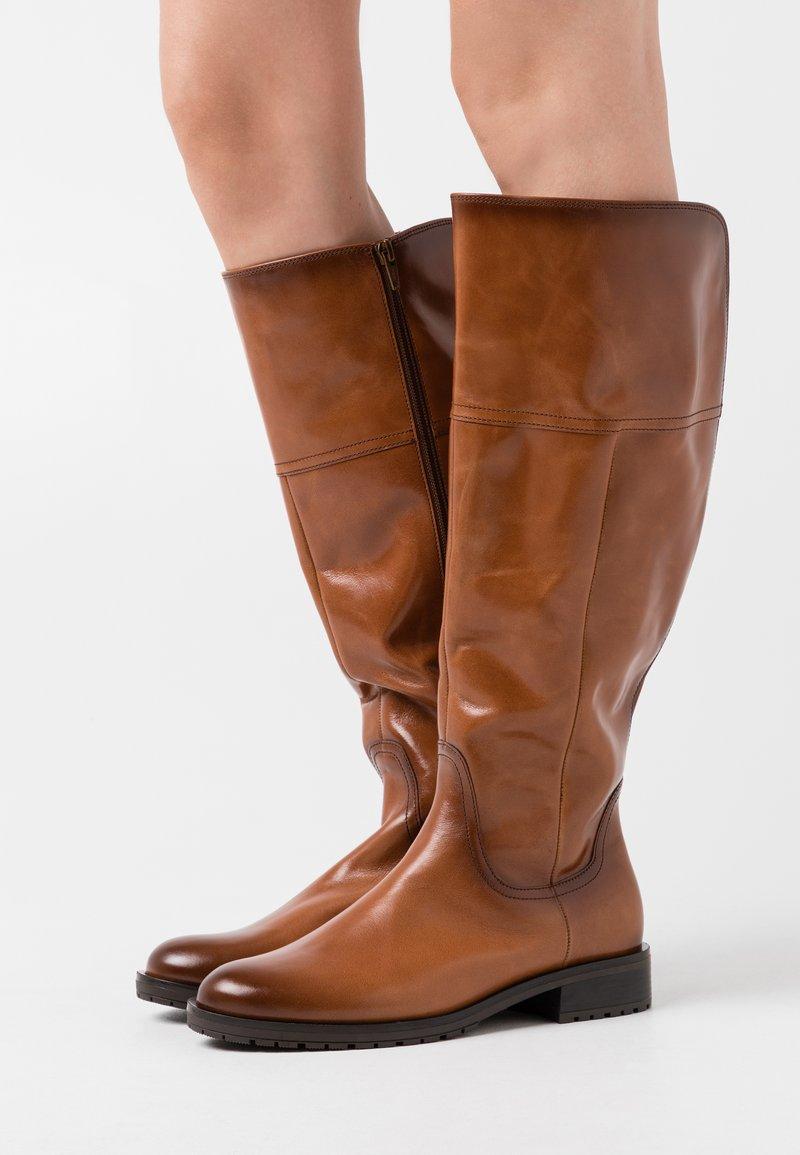 Gabor Comfort - XL - Vysoká obuv - whisky
