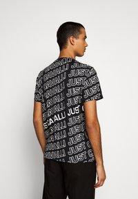 Just Cavalli - Print T-shirt - black variant - 2