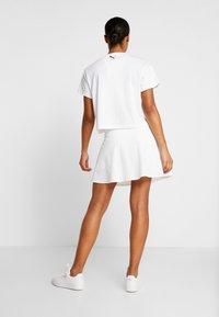 Puma Golf - PWRSHAPE SOLID SKIRT - Sports skirt - bright white - 2
