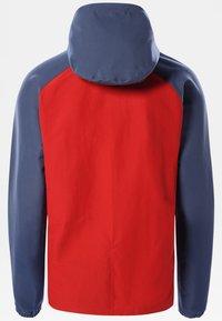 The North Face - M CLASS V PULLOVER - Kapuzenpullover - rococco red vintageindigo - 1