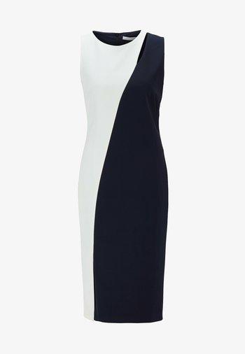 Shift dress - open blue