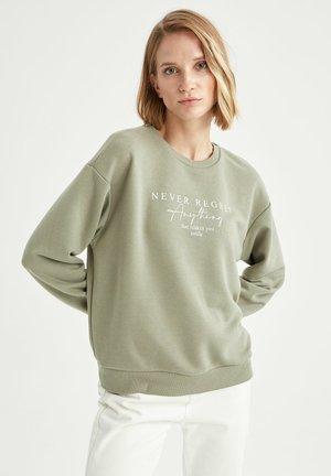 REGULAR FIT  - Sweatshirt - khaki