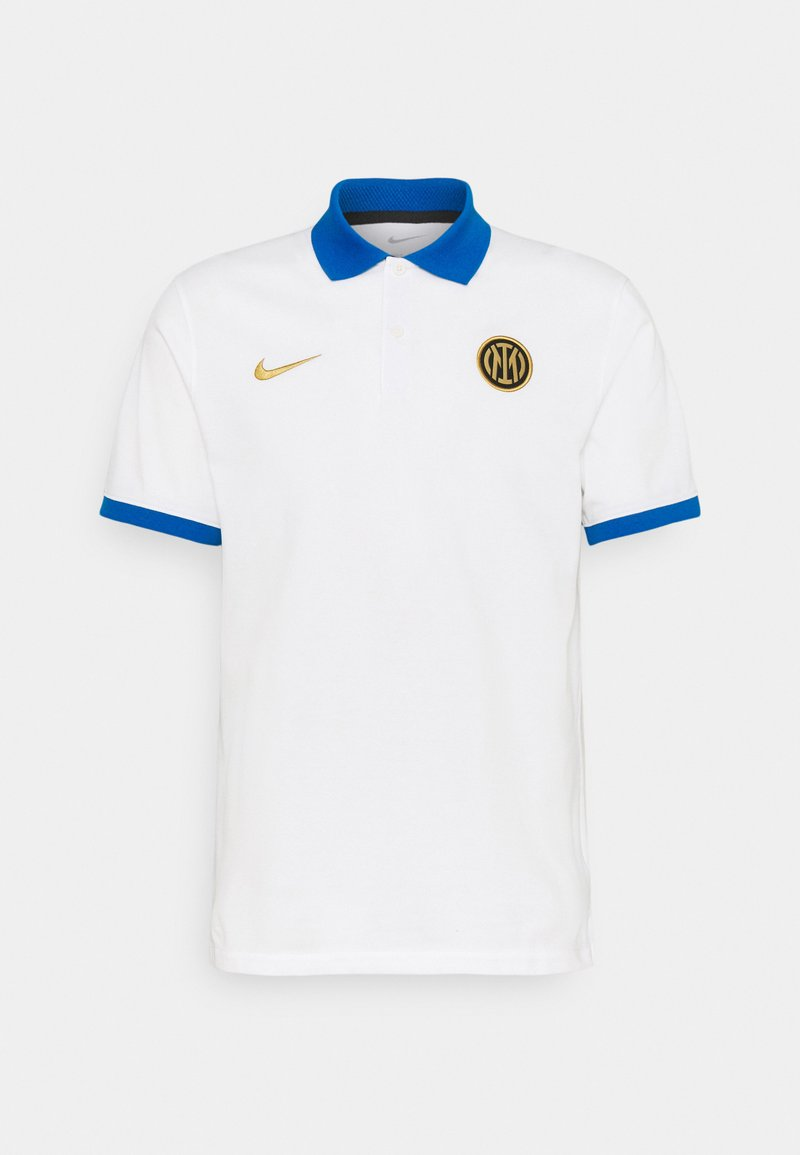 Nike Performance - INTER MAILAND SLIM - Club wear - white/blue spark/truly gold