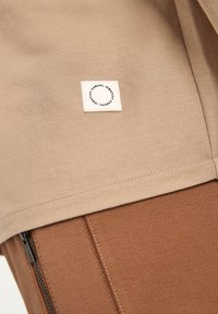 comma casual identity - Button-down blouse - dark beige - 5