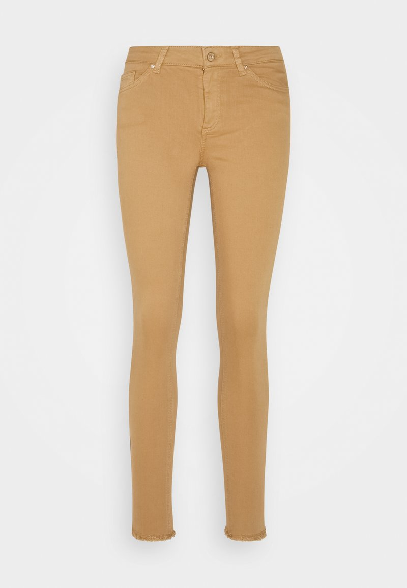 ONLY - ONLBLUSH LIFE ANKRAW - Jeans Skinny Fit - toasted coconut