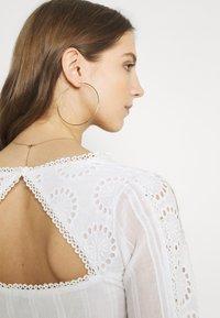 Lace & Beads - ELIZA DRESS - Košilové šaty - white - 3