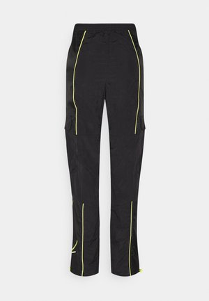 SIGNATURE BLOCK TRACKPANTS - Tracksuit bottoms - black