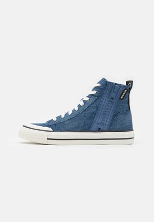 ASTICO S-ASTICO MID ZIP - High-top trainers - indigo