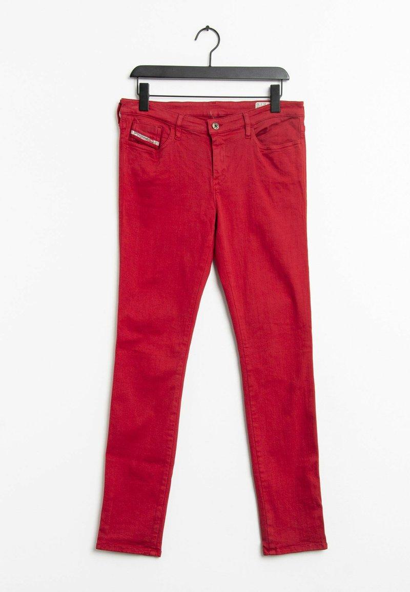 Diesel - Straight leg jeans - red
