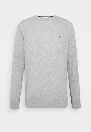 Pullover - silver chine
