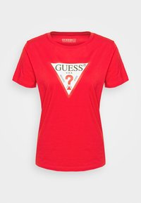 Guess - T-shirt print - necessary red - 3