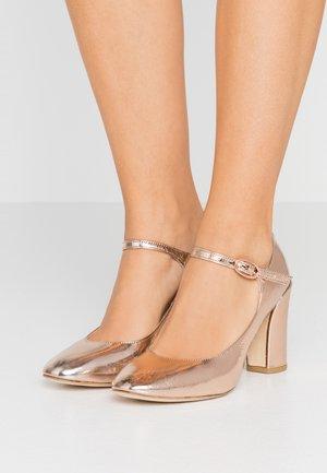 ENDORA - High heels - or rose