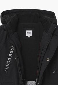 BOSS Kidswear - HOODED - Veste d'hiver - black - 2