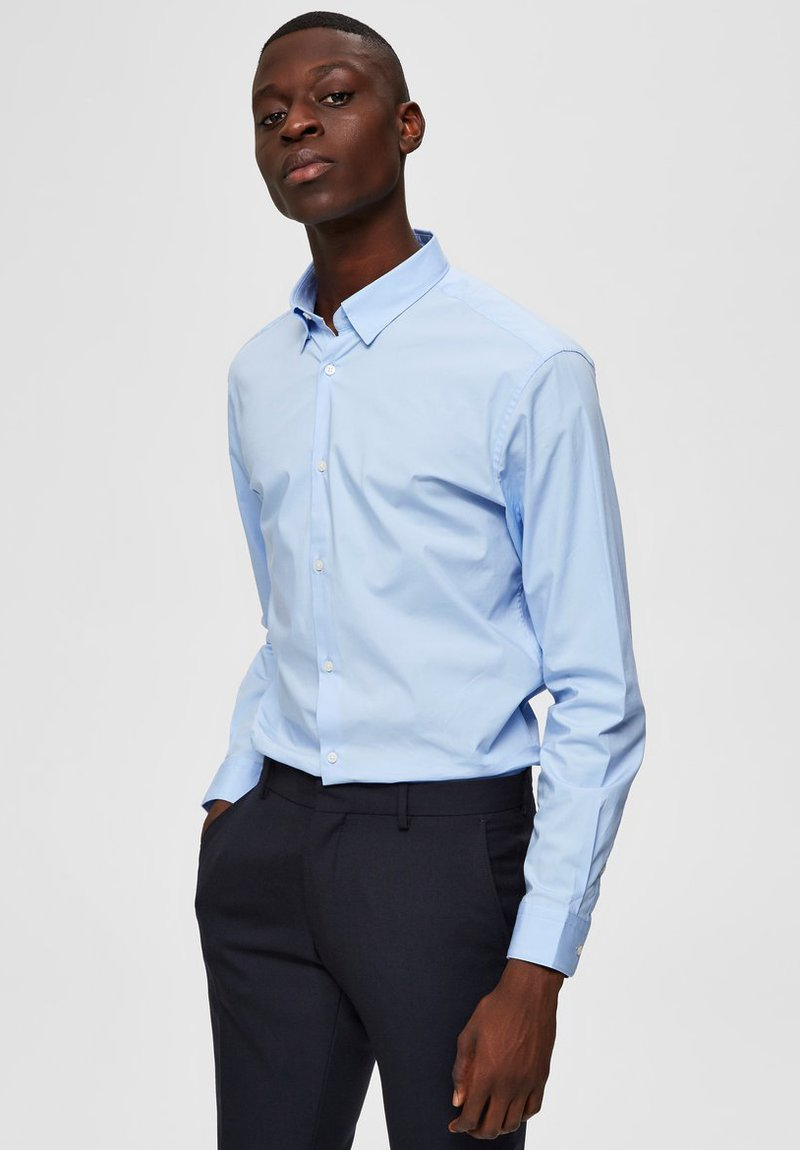 Selected Homme - Camicia - light blue