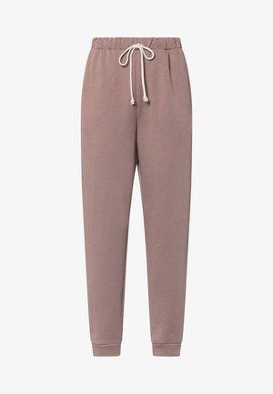 Teplákové kalhoty - mauve