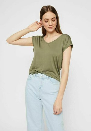 T-shirt basique - deep lichen green