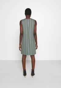 M Missoni - DRESS - Denní šaty - powderblue/milk/black/spearmint - 2