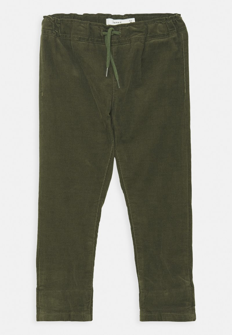 Name it - NMMBABU CORDCETONS PANT - Trousers - thyme