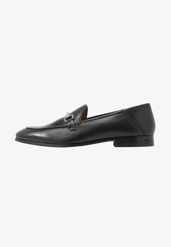 LEATHER - Slippers - black