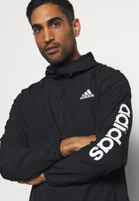 adidas Performance - AEROREADY TRAINING LOOSE JACKET - Veste de survêtement - black/white - 4